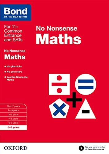 9780192740458: Bond: Maths: No Nonsense: 5-6 years