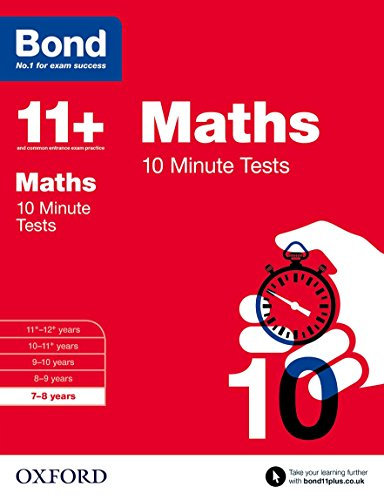 9780192740564: Bond 11+: Maths: 10 Minute Tests: 7-8 years