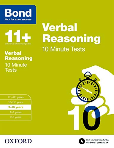 9780192740687: Bond 11+: Verbal Reasoning: 10 Minute Tests: 9-10 years