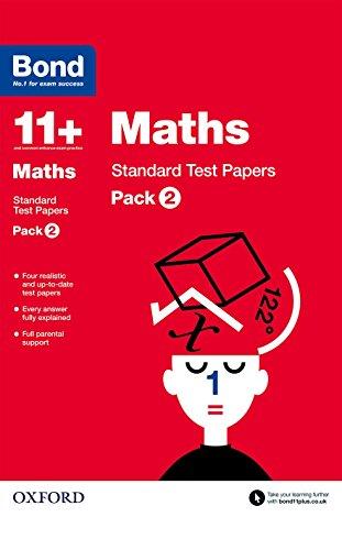 9780192740762: Bond 11+: Maths: Standard Test Paperspack 2