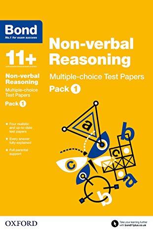 9780192740878: Bond 11+: Non Verbal Reasoning: Multiple Choice Test Paperspack 1