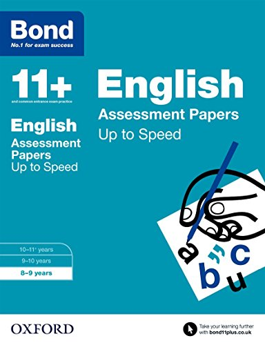 9780192740915: Bond 11+: English: Up to Speed Papers