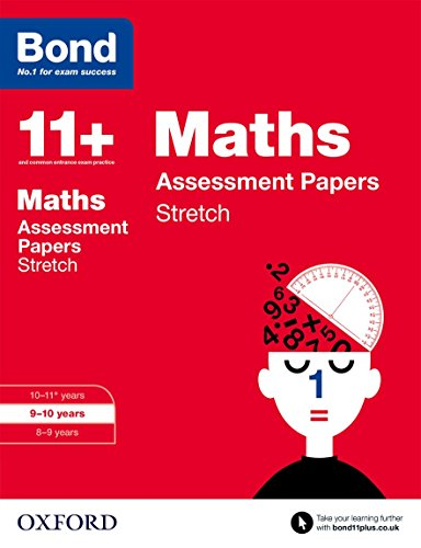 9780192742100: Bond 11+: Maths Stretch Papers: 9-10 years