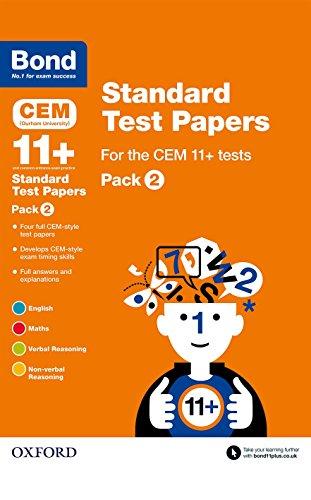 9780192742193: Bond 11+: Cem: Standard Test Paperspack 2