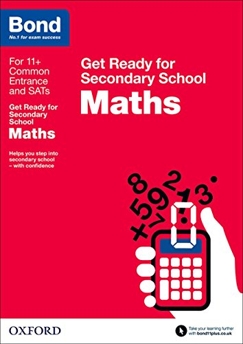 9780192742254: Bond 11+: Maths: Get Ready for Secondary School