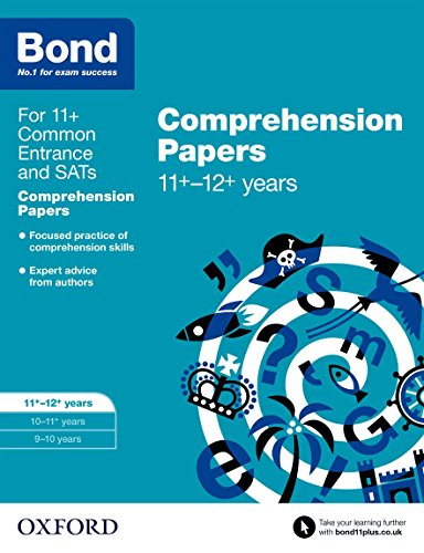 9780192742353: Bond 11+: English: Comprehension Papers