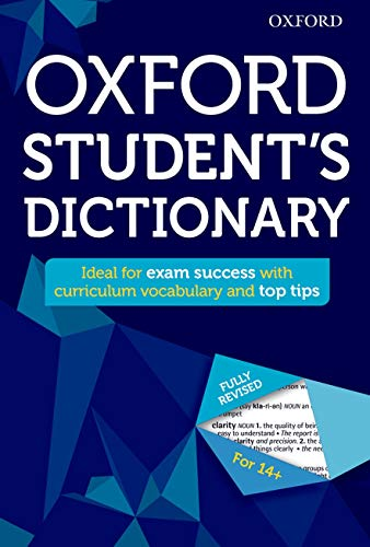 9780192742384: Oxford Student's Dictionary (Oxford Dictionary)