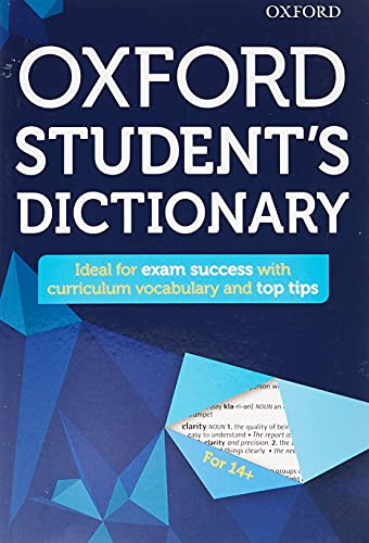 9780192742391: Oxford Student's Dictionary (Oxford Dictionary)