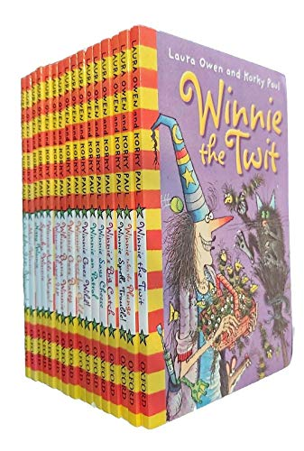 9780192742575: Winnie's Big Box Of 16 Books (Winnie the Witch) Collection Set NEW Laura Owen