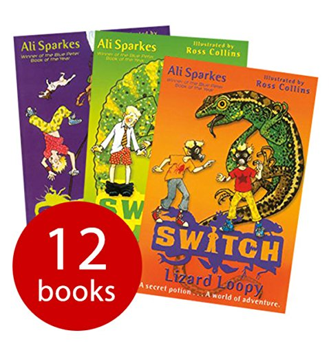 9780192743169: Switch Collection Set Pack (12 Books) Ali Sparkes, Oxford, RRP:£71.88