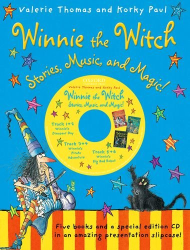 9780192743374: Winnie the Witch: Stories, Music, and Magic! (5 books with CD)