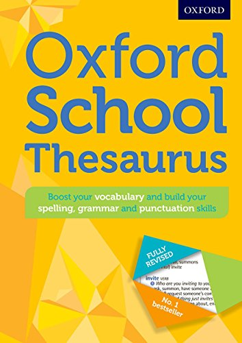9780192743510: Oxford School Thesaurus (Oxford Thesaurus)