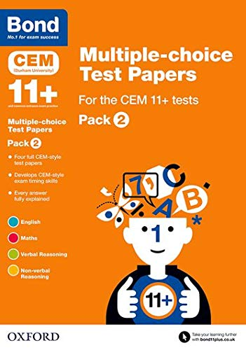 9780192744258: Bond 11+: Multiple-Choice Test Papers for the Cem 11+ Testspack 2