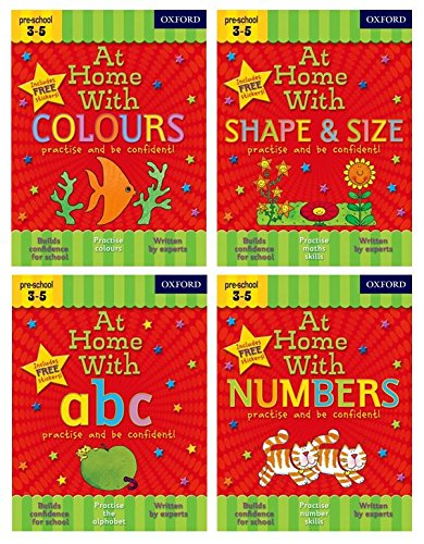 9780192744630: At Home with First Skills Pack (Ages 3-5)