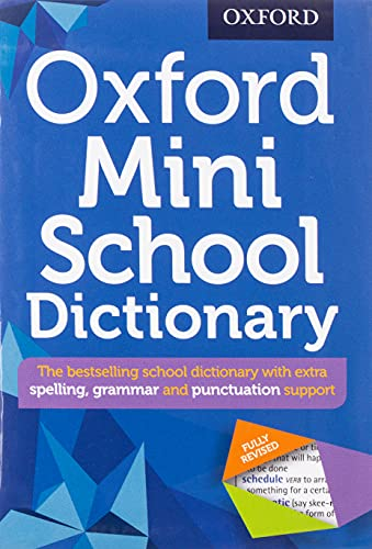 9780192747082: Oxford Mini School Dictionary