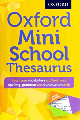 9780192747099: Oxford Mini School Thesaurus