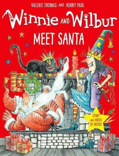 9780192747914: Winnie and Wilbur Meet Santa with audio CD (Winnie & Wilbur)