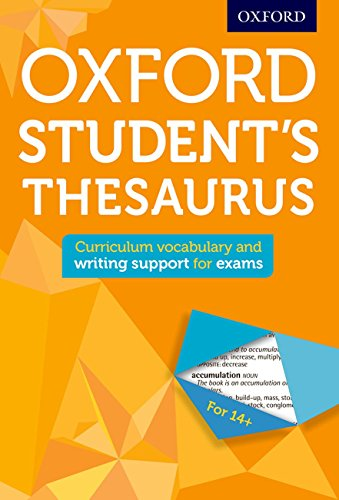 9780192749390: Oxford Student's Thesaurus (Oxford Thesaurus