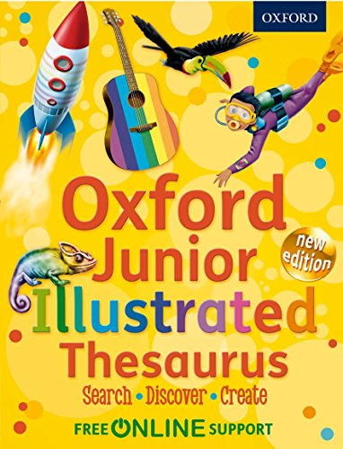 9780192756862: Oxford Junior Illustrated Thesaurus: Accessible, fun and colourful, for children aged 7+