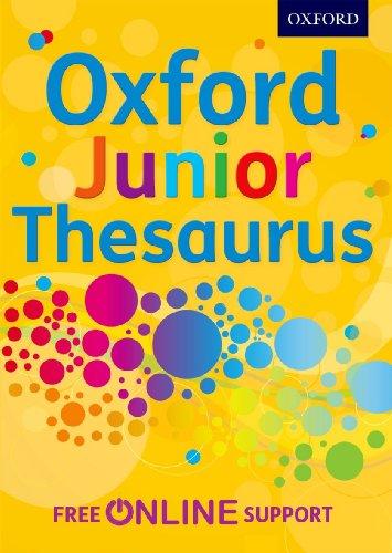 9780192756886: Oxford Junior Thesaurus