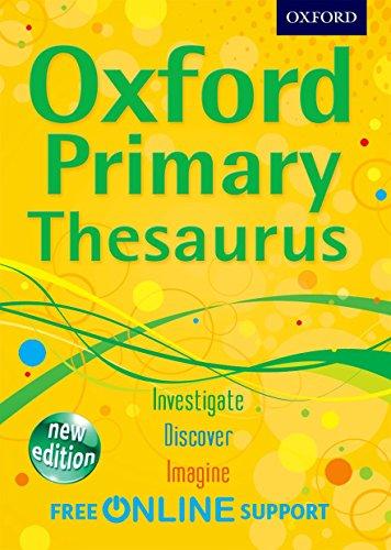 9780192756893: Oxford Primary Thesaurus 2012
