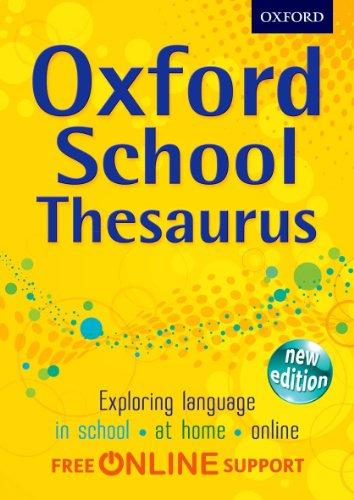 9780192756909: Oxford School Thesaurus