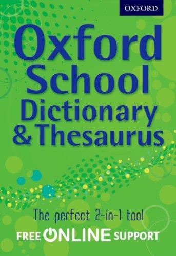9780192756916: Oxford School Dictionary & Thesaurus