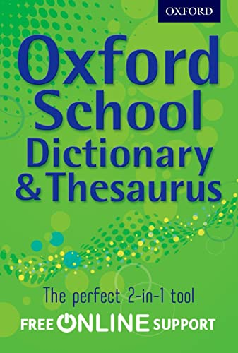 9780192756923: Oxford Combined Dictionary/Thesaurus 2012