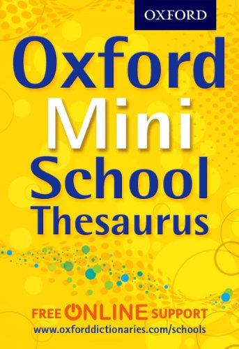 9780192756961: Oxford Mini School Thesaurus