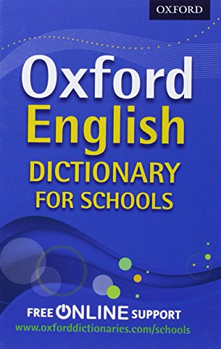 9780192756985: Oxford English Dictionary for Schools