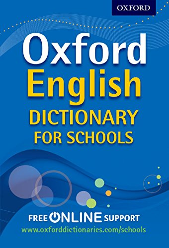 9780192756992: Oxford English Dictionary for Schools