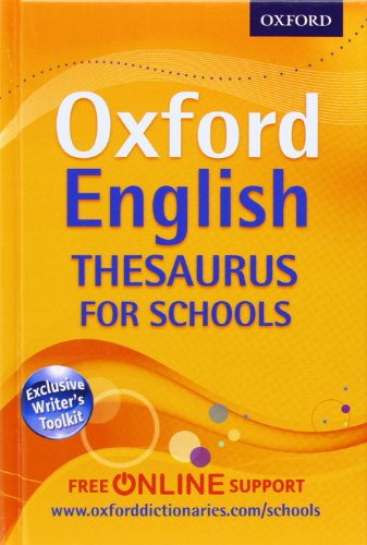 9780192757005: Oxford English Thesaurus for Schools