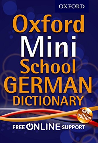 9780192757104: Oxford Mini School German Dictionary