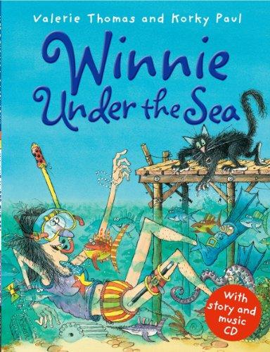 9780192757494: Winnie Under the Sea with audio CD (Winnie the Witch)