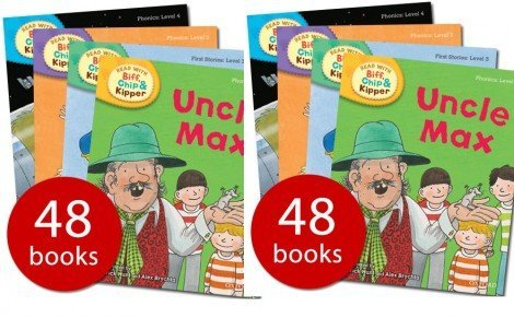 9780192757784: Oxford Read at Home Biff, Chip and Kipper Complete Phonics Collection - Levels 1-6; 48 Books