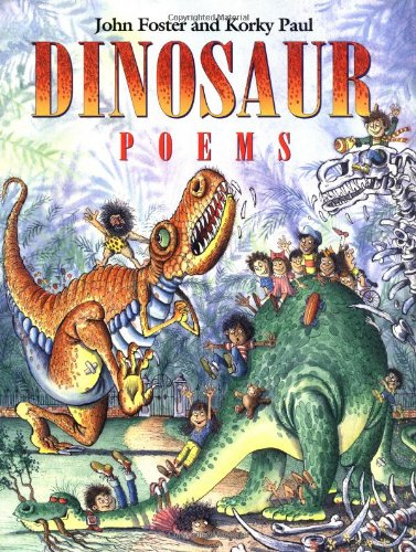 9780192761262: DINOSAUR POEMS