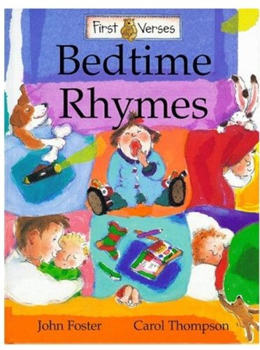 9780192762054: First Verses: Bedtime Rhymes