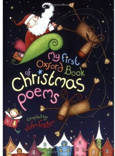 9780192762993: My First Oxford Book of Christmas Poems