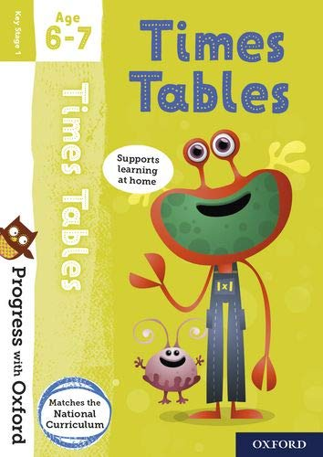 9780192767936: Progress with Oxford: Times Tables Age 6-7