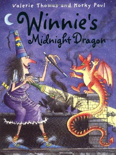 9780192791009: Winnie's Midnight Dragon (Winnie the Witch)