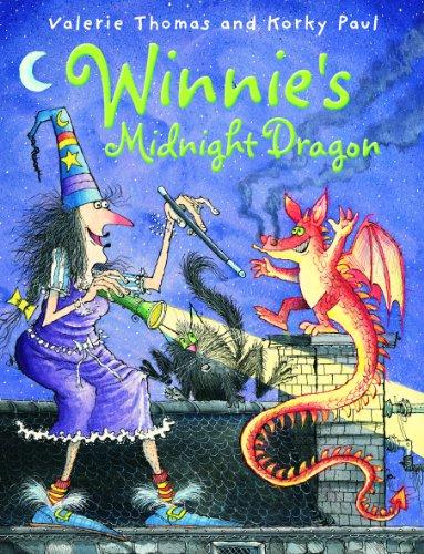9780192791016: Winnie's Midnight Dragon (Winnie the Witch)