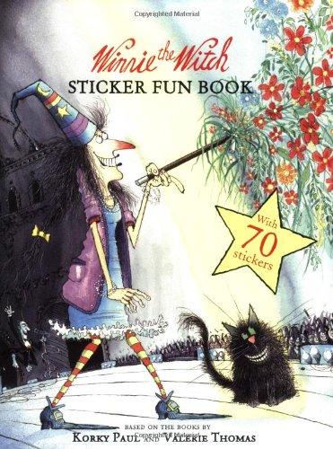 9780192792051: Winnie Sticker Book (Winnie the Witch)