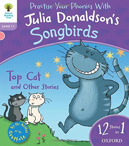 9780192792969: Oxford Reading Tree Songbirds: Level 1+: Top Cat and Other Stories