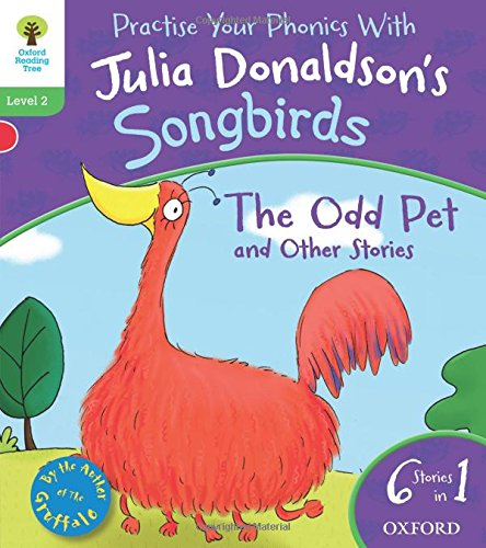 9780192792976: Oxford Reading Tree Songbirds: Level 2: The Odd Pet and Other Stories (Songbirds Phonics)