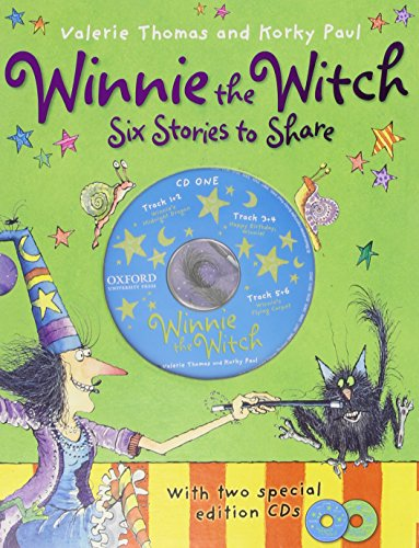 9780192793478: Winnie the Witch 6 Stories to Share & 2 CDs