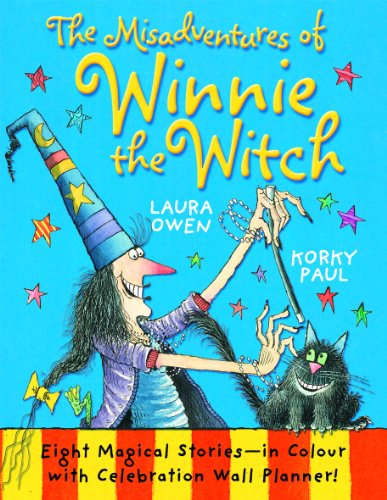 9780192793645: The Misadventures of Winnie the Witch with Wall Planner