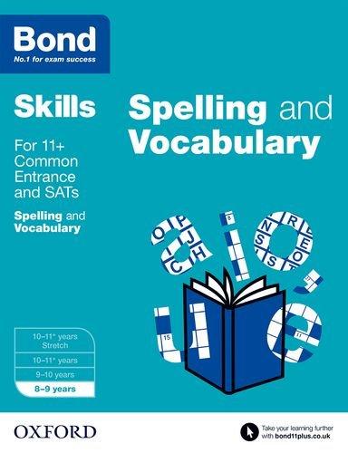 9780192793775: Bond SATs Skills: English: Spelling and Vocabulary: 8-9 Years