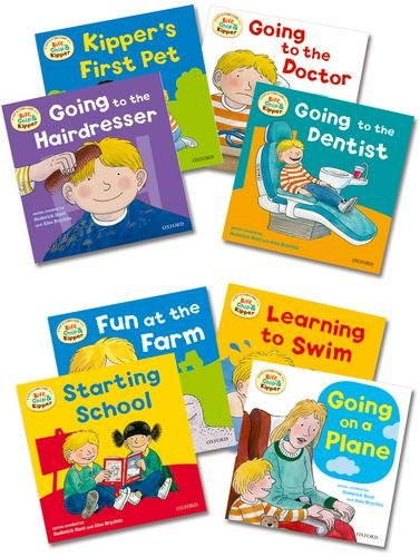9780192794048: Oxford Reading Tree: Biff, Chip & Kipper First Experiences Pack of 8