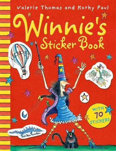 9780192794710: Winnie's Sticker Book 2012 (Winner the Witch)