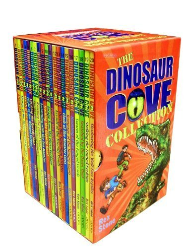 9780192794758: Dinosaur Cove Collection - 20 books box set (Haunting of the Ghost Runners, Attack of the Lizard King, Charge of the Three-horned Monster, Armoured Beasts, Winged Serpent, Giant Reptiles, Rampage of the Hungry Giants) (Dinosaur Cove)